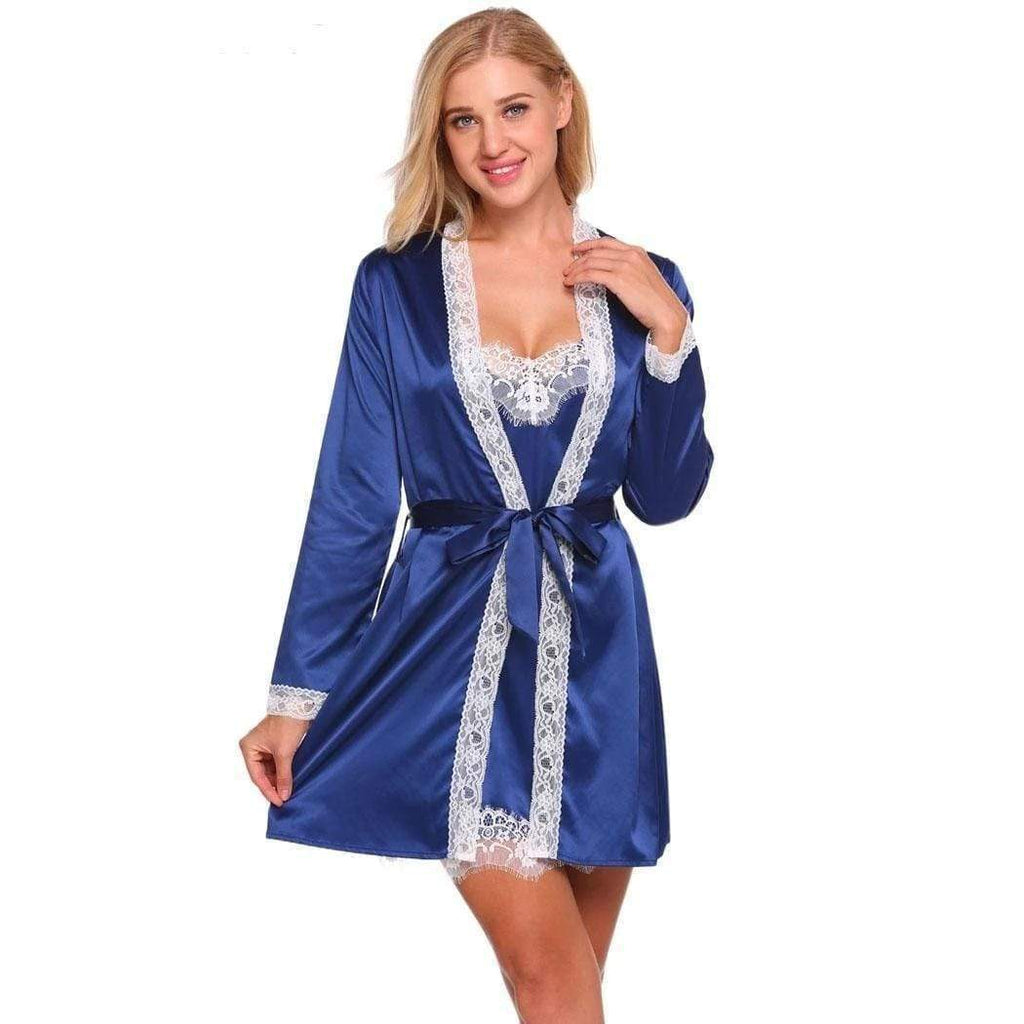 eprolo Gown & Robe Set Two-piece Robe Set | LuxNightwear.com