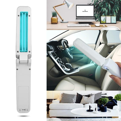 Lux Nightwear 1pcs Household Handheld Ultraviolet UV Disinfection Lamp Battery Charging Germicidal Portable Sterilization UVC Disinfection Light