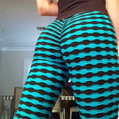 Lux Nightwear Apparel, shoes & jewelry||Apparel||Women||Activewear Blue / L Leggings For Women 3 Colors Print High Waist Casual Sportwear Lift The Hips Leggings