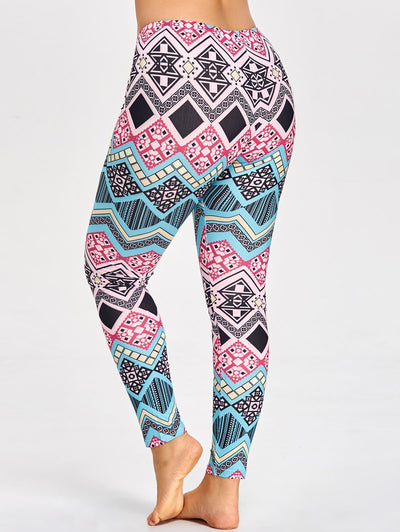 Lux Nightwear Apparel, shoes & jewelry||Apparel||Women||Activewear Picture color / 3XL 3D printed large size leggings
