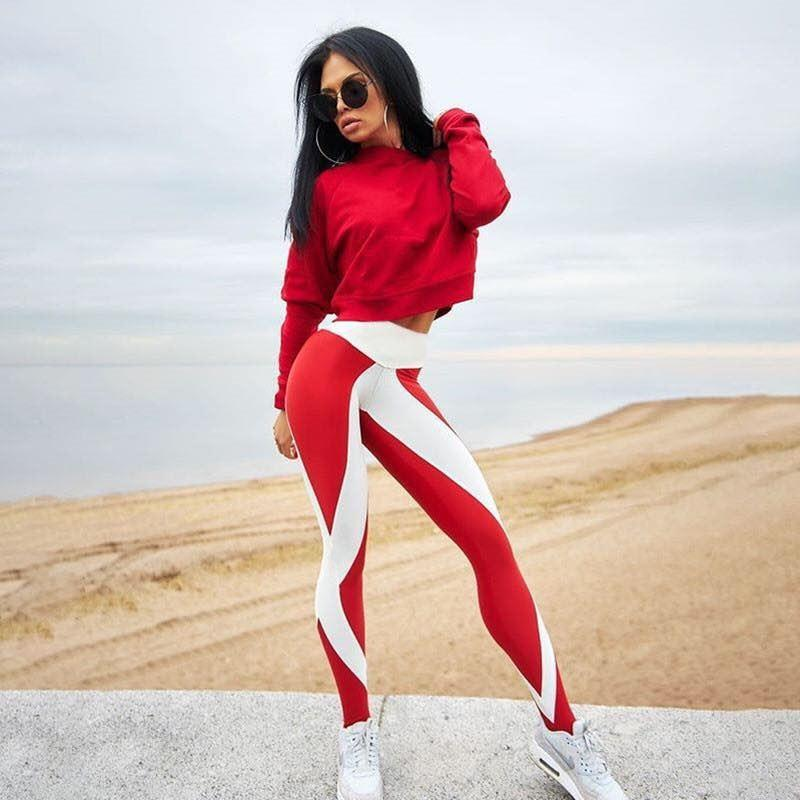 Lux Nightwear Apparel, shoes & jewelry||Apparel||Women||Activewear Red XL Yoga pants
