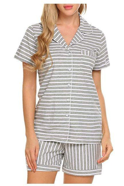 Lux Nightwear Women - Apparel - Lingerie and Sleepwear - Lounge Shorts Shirts+Pants Sleepwear Nightwear
