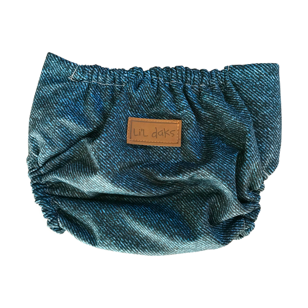 Signature Denim Swim Nappy