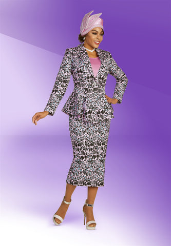 Ben Marc 48365 Embellished 3pc Suit