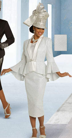 Donna Vinci 5688 Embellished 3pc Suit