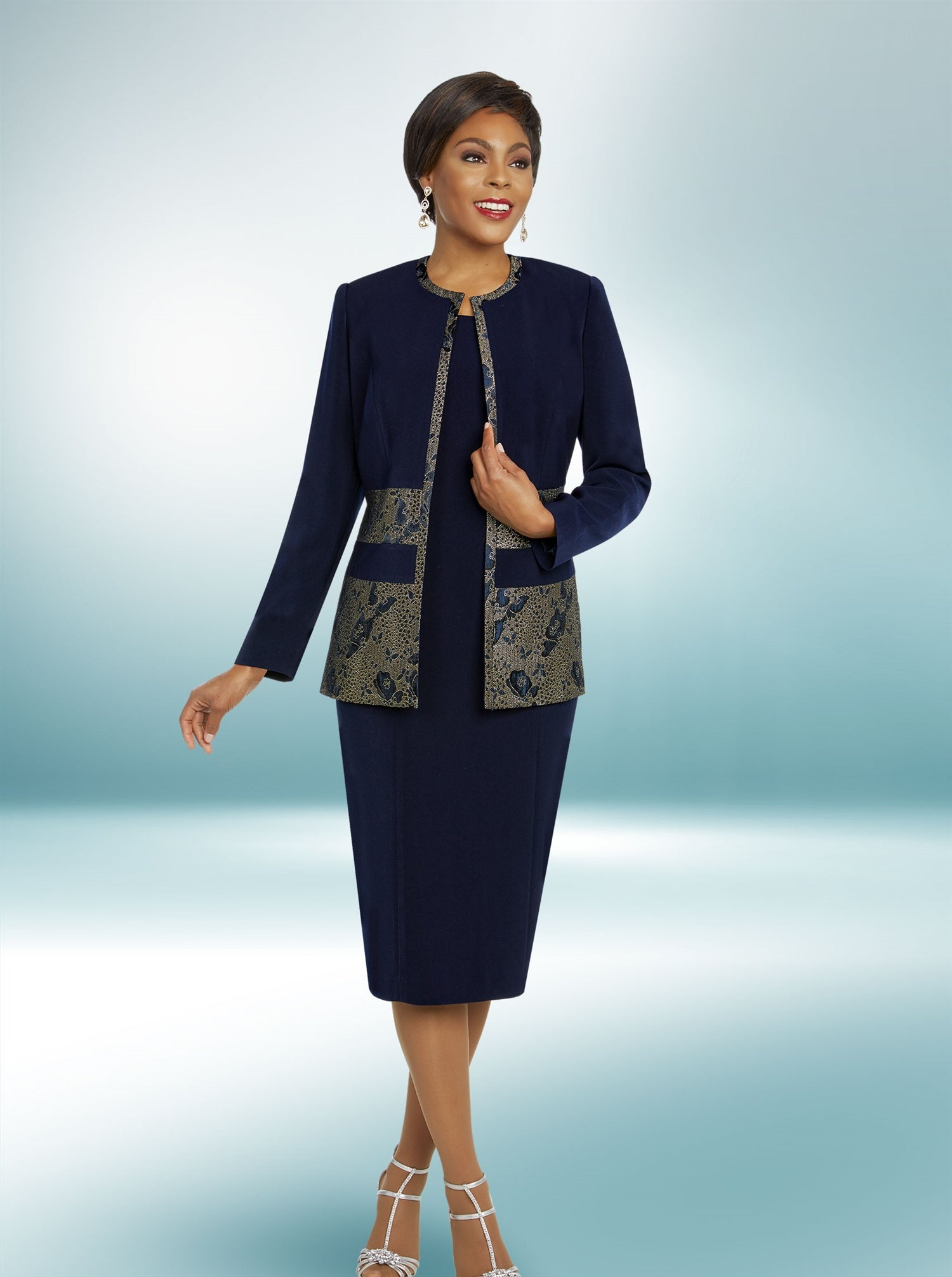 Ben Marc Executive 11837 2pc Jacket Dress