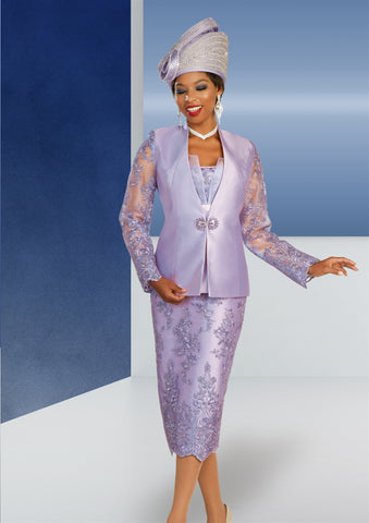 Ben Marc 48340 Embellished 3pc Suit