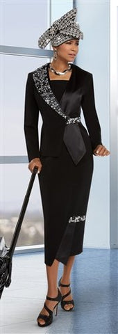 Donna Vinci 11620 Rhinestone Embellished 2pc Suit
