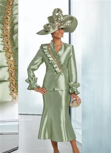 Donna Vinci 11761 Rhinestone Trim 2pc Suit