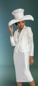 Donna Vinci 11794 Embroidered 3pc Suit