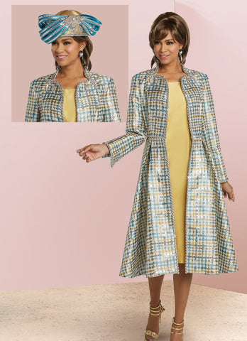Donna Vinci 5629 2pc Jacket Dress