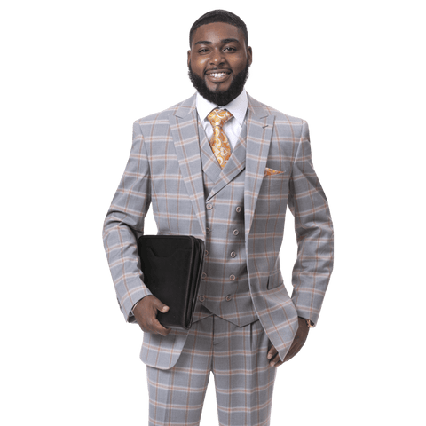 E.J. Samuel M2720 Fashion Suit