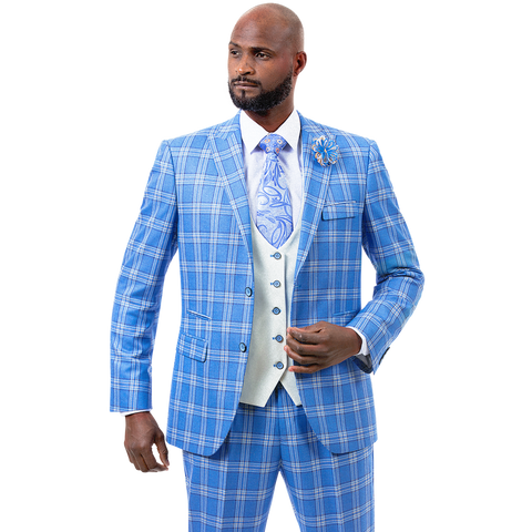 E.J. Samuel M2722 Fashion Suit