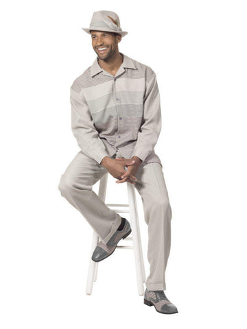 Montique 1753 Mens Walking Suit - Long Sleeve Mens Leisure Suits