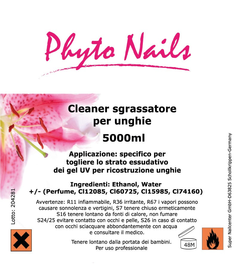 CLEANER SGRASSANTE