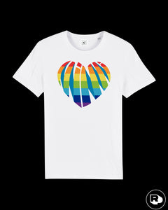 T-shirt Miami Rainbow