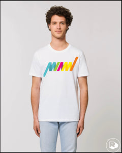 Riposte Miami Stripe t-shirt
