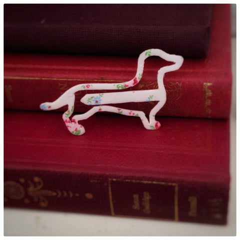 Dachshund bookmark