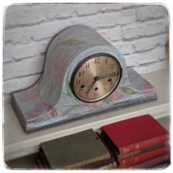 Napoleon Hat Mantelpiece Westminster chime clock