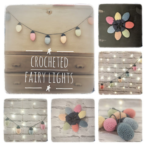 Crochet Fairly Lights Bunting