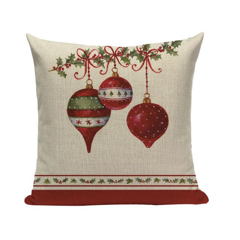 'Good Ol' Days' Christmas Cushion Covers