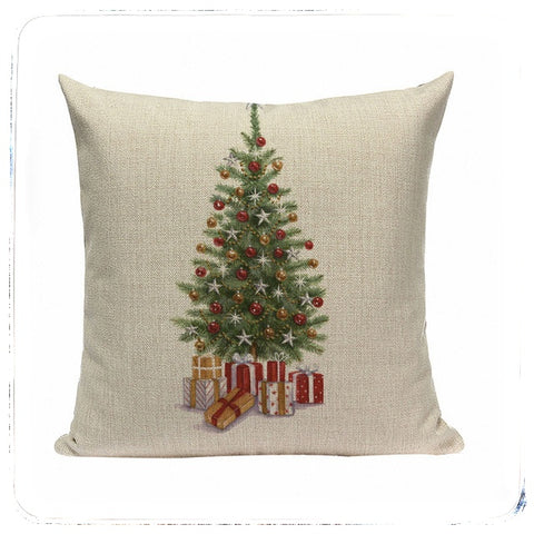 Christmas Tree Cushion Covers