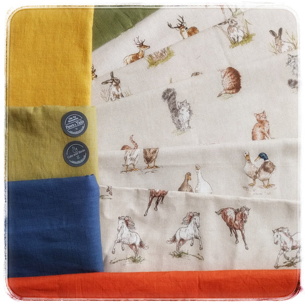 Countryside Manor House bandana for pets