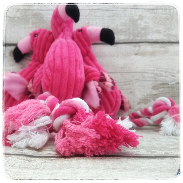 Fanny the Flamingo Pet Toy