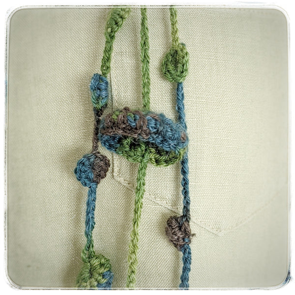 The Seaweed Collection-Hand Crocheted Statement Jewelry