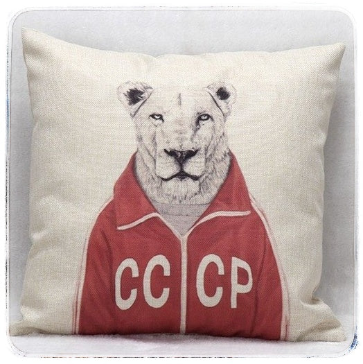 Quirky Creatures cushion cover