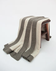 Cashmere Blanket in Wheat