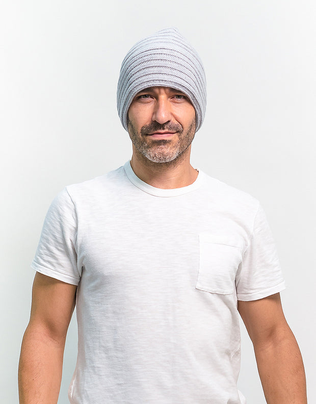 The Powder Beanie in Ash