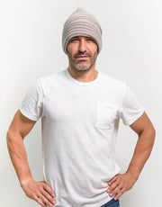 The Powder Beanie in Oak