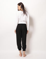 Relaxed Cashmere Pants in Black