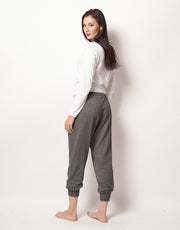 Relaxed Cashmere Pants in Thunder