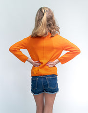 Fairy Cardigan in Orange
