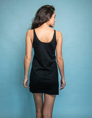 Cashmere Slip Dress in Black
