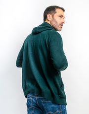 The Guy Hoodie in Dark Green