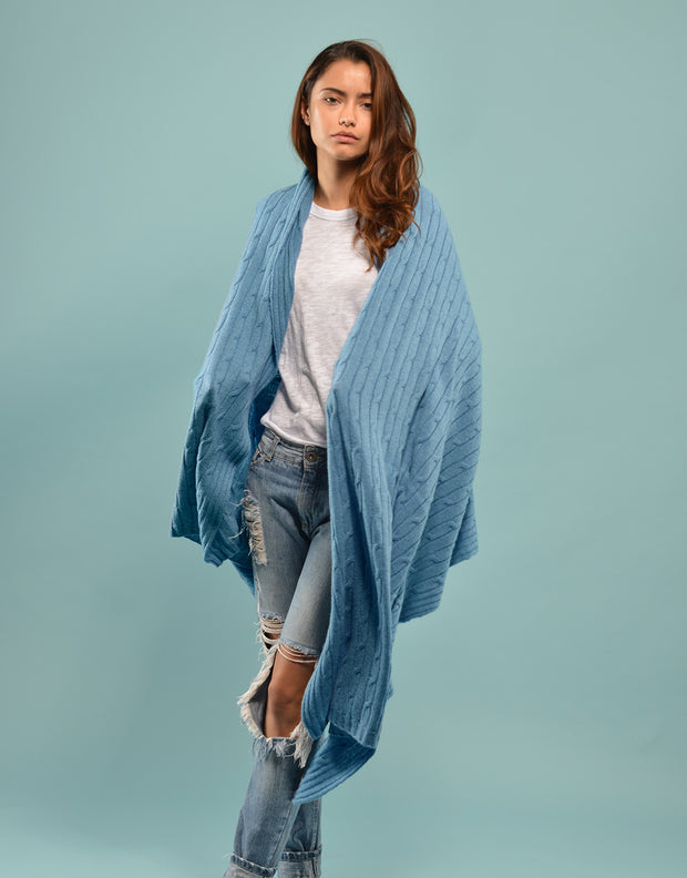 The Blanket Wrap in Wave
