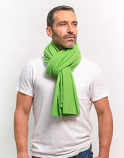 Rainbow Scarf in Green