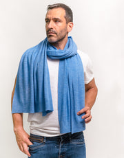 Pashmina Scarf in Bright Blue