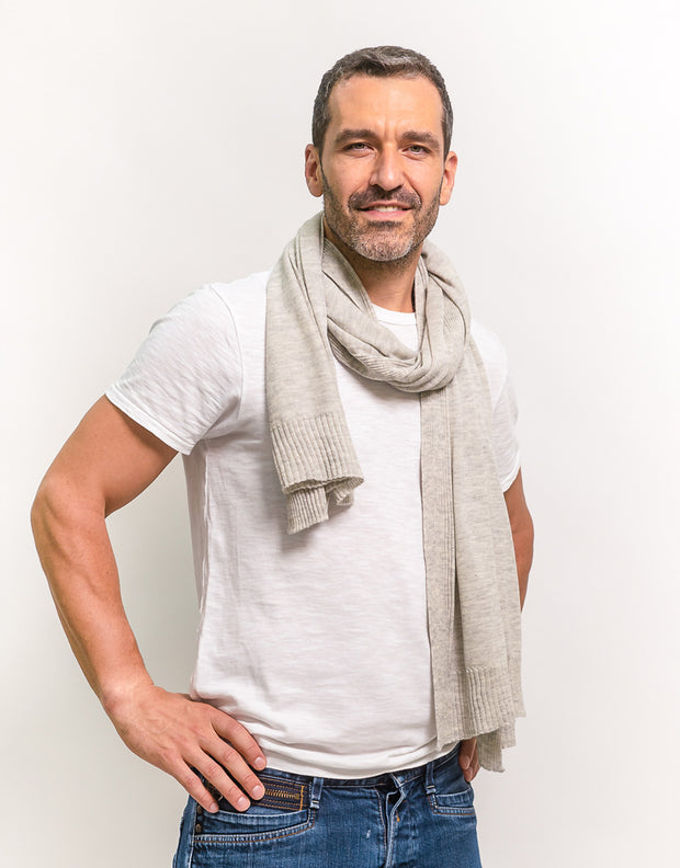 Pashmina Scarf in Silver
