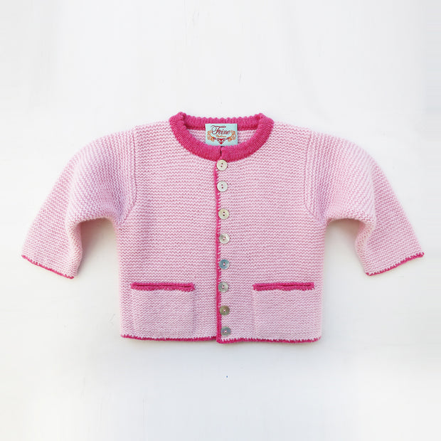 Baby Cashmere Contrast Jacket