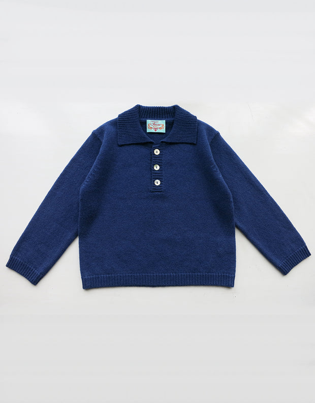 Baby Boy Button Jumper