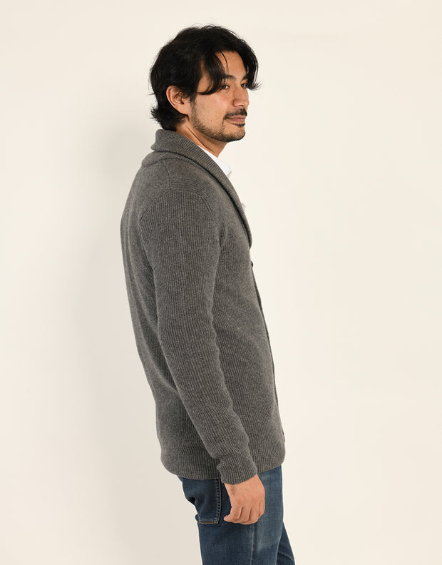 Buttoned Cashmere Cardigan