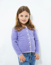 Coco Girls Cashmere Cardigan