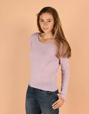 Crew Neck Sweater in Clover