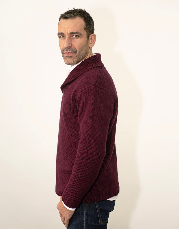Fisherman's Jumper in Merlot