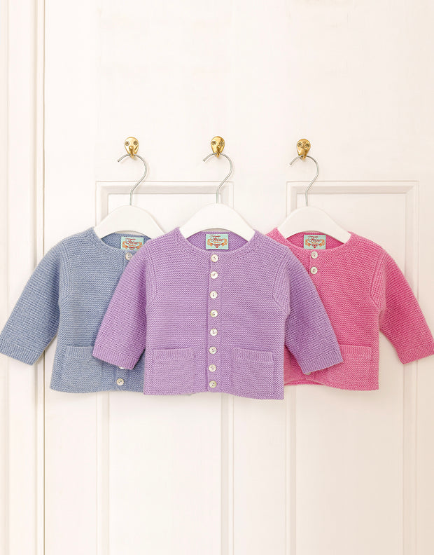 Hand Knitted Baby Cashmere Jacket