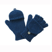 Kids Hand Knitted Cashmere Hobo Gloves